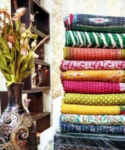 vintage kantha quilt