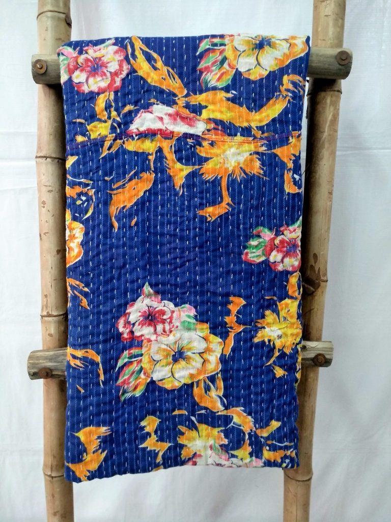 Indian Kantha Quilts