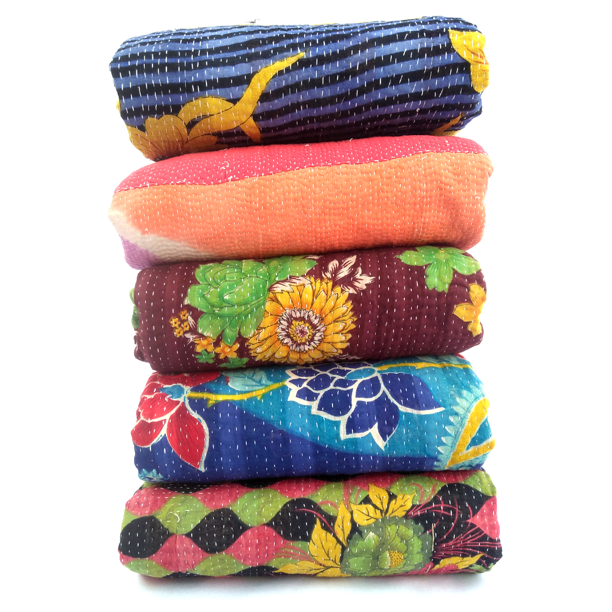 Heavy Vintage Kantha Throw