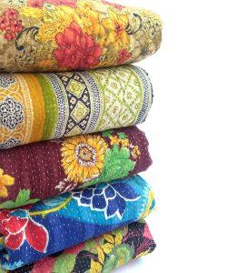 Vintage Kantha Blanket