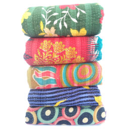 Indian Heavy Kantha Quilt