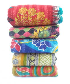 Handmade Heavy Kantha Throw