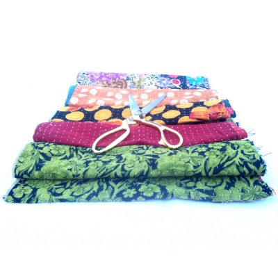 kantha Scrap for Craft Making