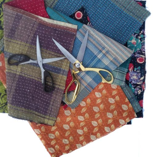 Kantha Fabric Remnants
