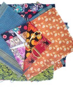 Kantha Remnants Fabric Scrap