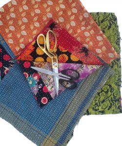 Soft Kantha Scrap Fabric