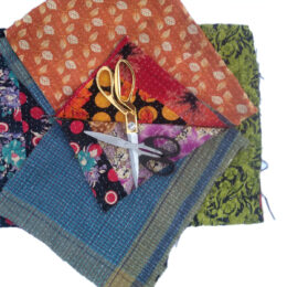 Soft Kantha Scrap Fabric
