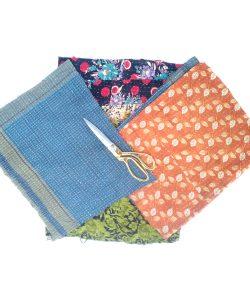 Kantha Quilt Vintage Scrap