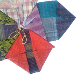 Kantha Cotton Fabric Scrap