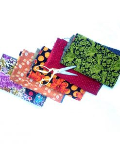 Vintage Kantha Quilt Scrap Lot