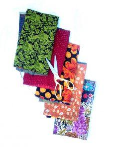 Kantha Embroidered Scrap Lot