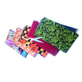 Vintage Kantha Scrap Lot
