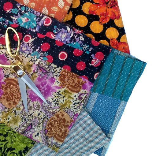 Indian Cotton Scrap Fabric