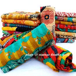 Rama Vintage Kantha Quilt Lot