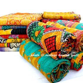 Koyali Vintage Kantha Quilt Lot