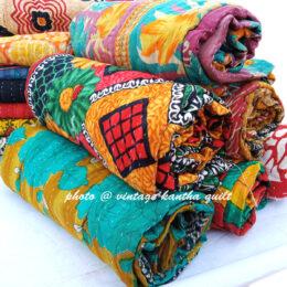 Makki Vintage Kantha Quilt Lot