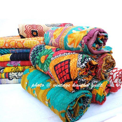 Indian Handmade Kantha Gudari Lot