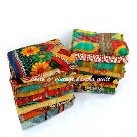 Vintage Kantha Quilt by Chayya