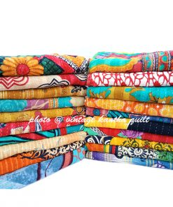 Vintage Kantha Quilt by Mira
