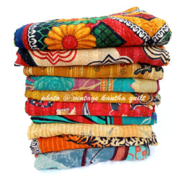 Buy Wholesale Vintage Kantha Throw