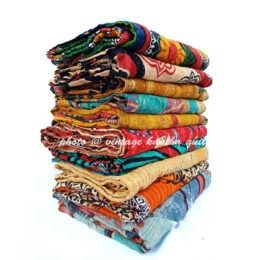 Wholesale Reversible Kantha Throw