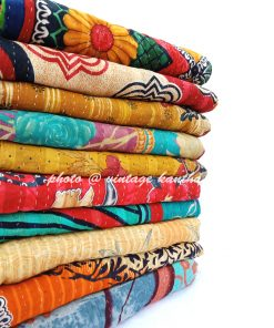 Wholesale 3 layered Kantha Throw
