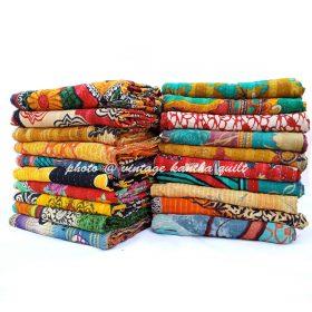 Kantha Throw Wholesale