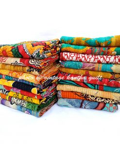 Vintage Twin Kantha Throw Wholesale