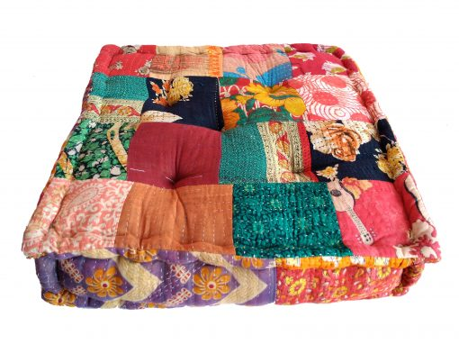 indian handmade floor cushion