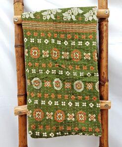 Vintage Kantha Quilt Throw