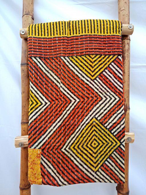 Kantha Twin Handmade Throw