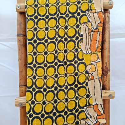 Kantha Twin Handmade Blanket