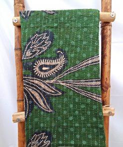 Garden Inspired Kantha Quilt