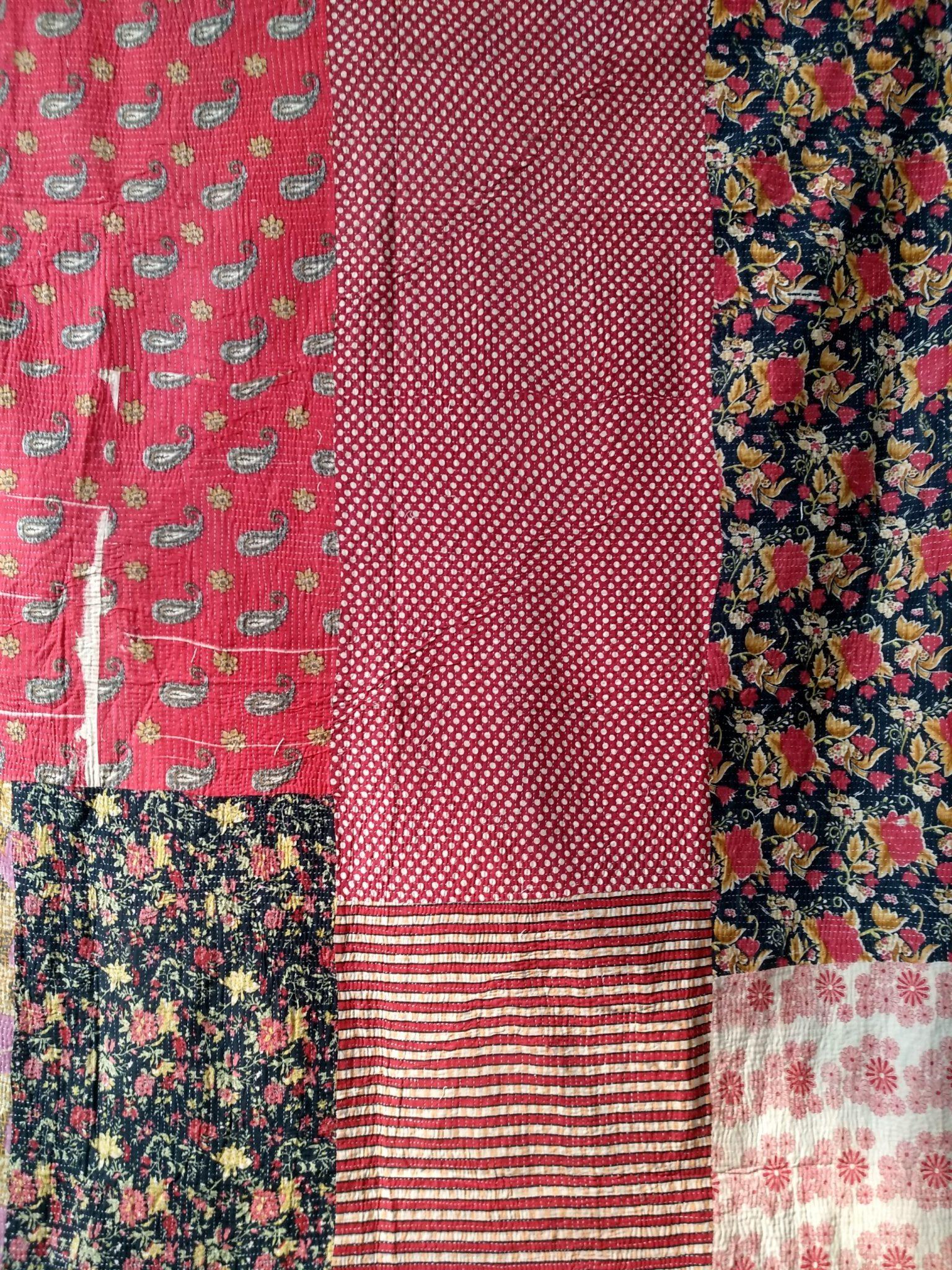Close Stitched Heavy designer Kantha Quilt