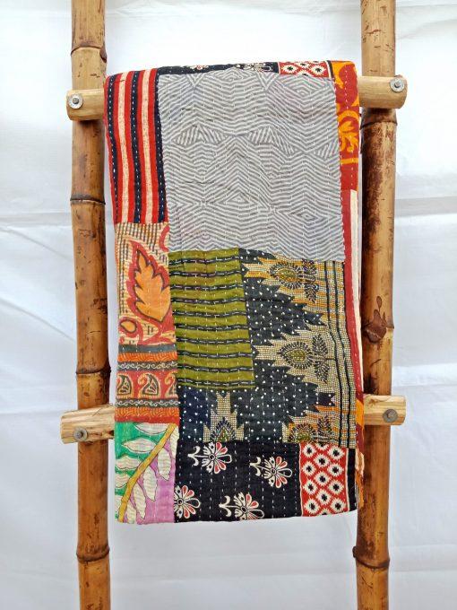 Patchwork Kantha Quilt