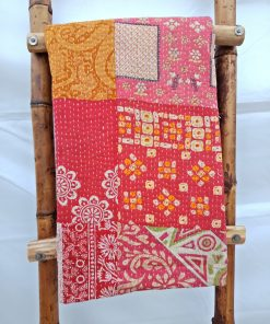 Indian Patchwork Kantha Quilt
