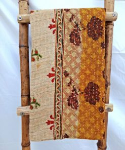 Vintage Kantha Quilt Savita