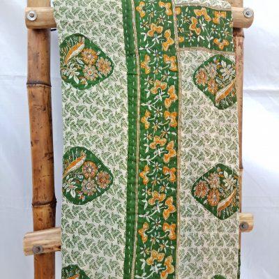 Diamond Vintage Kantha Quilt