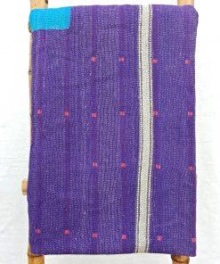 6 Layered Heavy Vintage Kantha Quilt