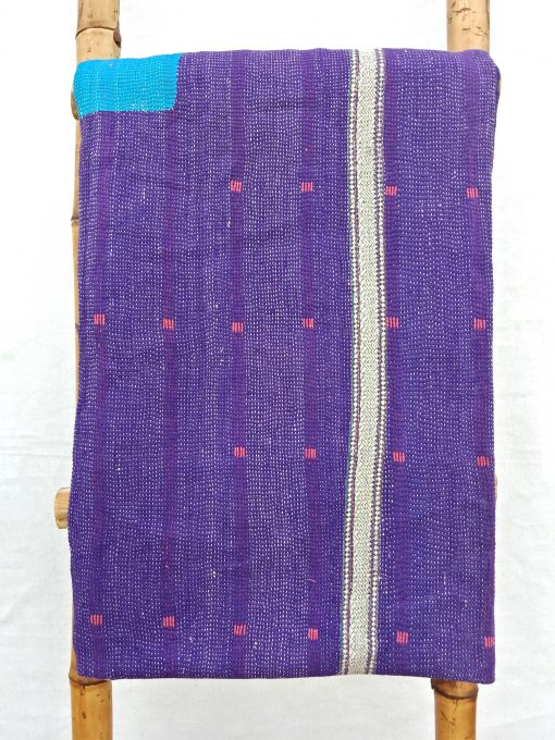 6 Layered Heavy Vintage Kantha Quilt