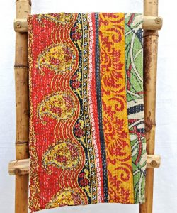 2 layered Close Stitched Kantha Quilt
