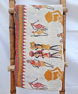 Web Special Vintage Kantha Quilt