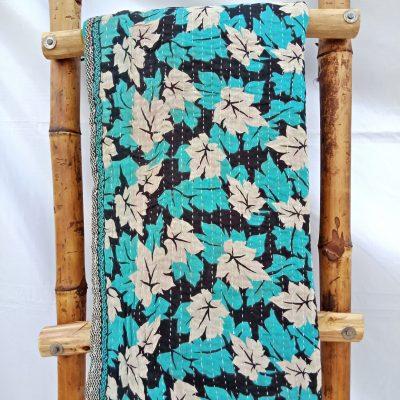 Autumn Special Vintage Kantha Quilt