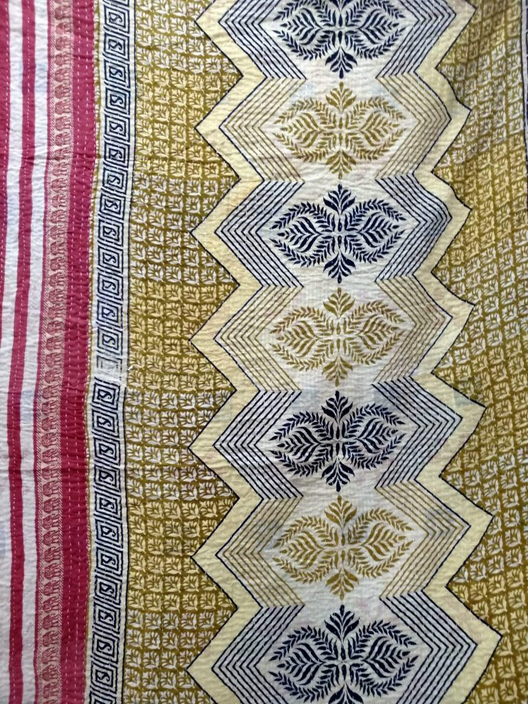 3 layered kantha