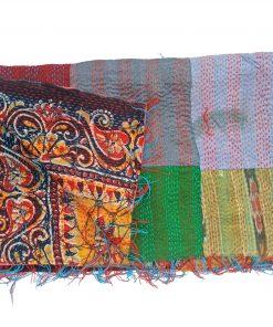 homemade kantha scarf