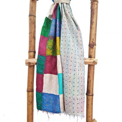 Indian Vintage Kantha Scarf