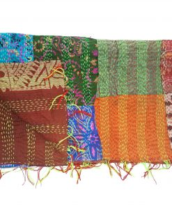 vintage patchwork scarf