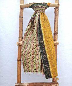 Floral Vintage Kantha Scarf
