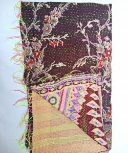Kantha Cotton Scarf