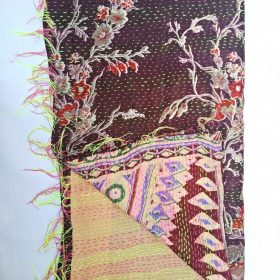 Kantha Cotton Scarf